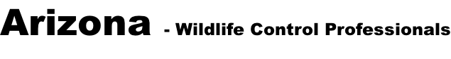 Arizona - Wildlife Control Professionals